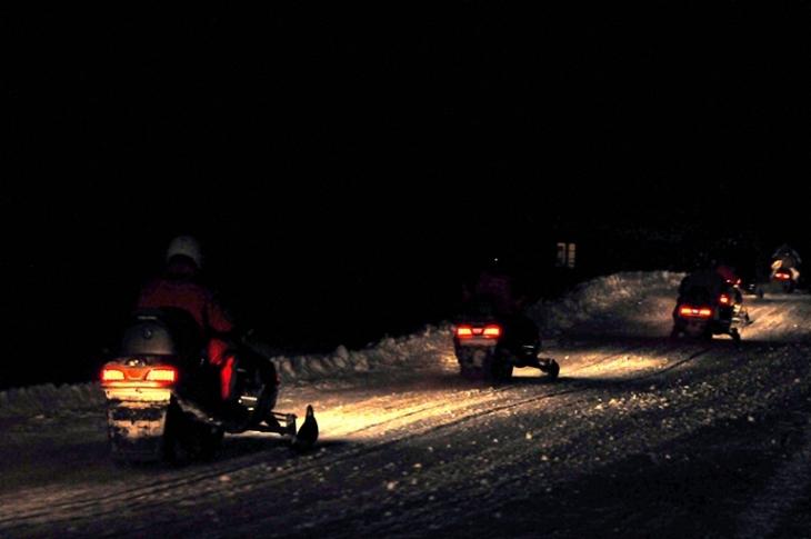 Video Escursione Motoslitta
